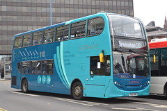 Arriva Midlands 4415 YX64VMK (Will Swain) Tags: city uk travel england west bus buses birmingham october britain centre transport 16th midland midlands arriva 2015 4415 yx64vmk
