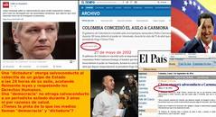 Asilos de Assange y Carmona Estanga (cvanderdys) Tags: venezuela hugo chvez asilo carmona estanga assange
