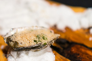 Oyster with foie gras | AnnaLena (Vancouver, BC)