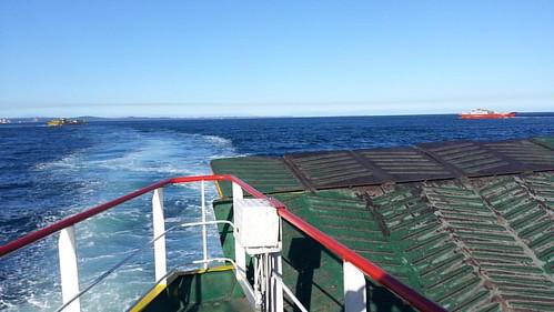 Capturando Momentos Inolvidables, de un Viaje Extraordinario, Cruzando el Canal de Chacao, Isla Grande de Chiloé, Febrero 2014.  #chile #chilelindo #chilegram #igers #icu_chile #ig_captures #instagood #instagramers #instachile #instapic #instafolow #chile