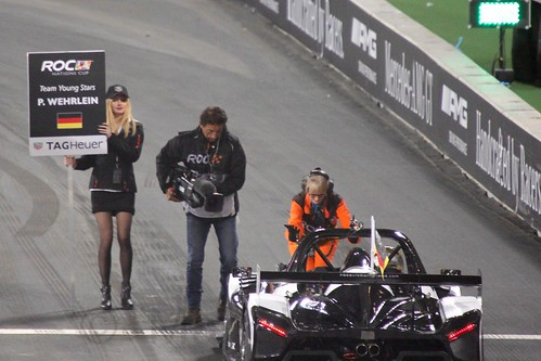 Pascal Wehrlein in The Race of Champions, Olympic Stadium, London, November 2015