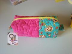 Necessaire box... (Ma Ma Marie Artcountry) Tags: patchwork estojo necessaire estojoescolar necessairedetecido necessairebox
