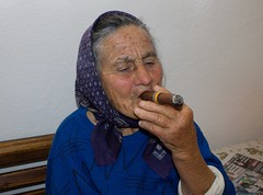 Grandmother (Ognjen Borovina) Tags: portrait people grandmother cigarette cuban cigarettesmoke