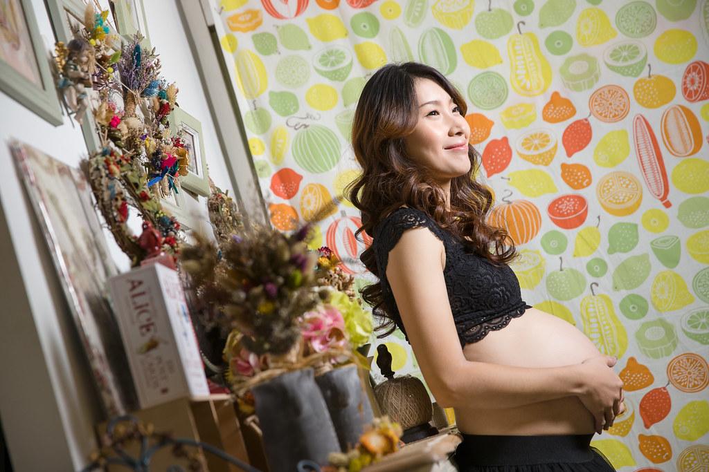 孕婦寫真,孕婦攝影,孕婦棚拍,婚攝卡樂,161217筱琪27