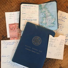CTC Diary (terra runner) Tags: vintage bicycle touring brevet ctc datebook document ephemera travel
