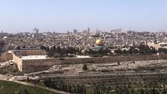 Temple Mount Jerusalem (Lars Ørstavik) Tags: templemount solomon alaqsa qubbatassakhrah mountofolives palestine israel mosque goldendome domeontherock abraham isac mohammad islam jerusalem holyland
