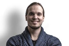 IMG_5756_red (Eivind Nielsen) Tags: selfportrait flash smile portrait