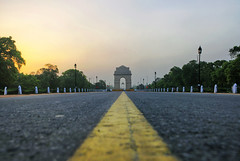 India Gate || New Delhi winters (The Canon Fanboy) Tags: indiagate newdelhi winters sunlight beyondbokeh canon photography travel bobbyroy photographer india