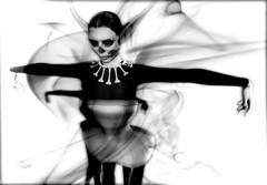 B E N D E R  Aurora poster B black and white (B E N D E R & FasterPussycatFashion) Tags: originalmesh mesh corset lingerie fetishfashion bender honeybender secondlife secondlifestyle secondlifefashion burlesque carnivale nylons garters icons fashion couture courturemesh