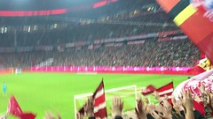 Bayern München! (ekelly80) Tags: munich germany bavaria december2016 soccer football bayernmünchen allianzarena bundesliga fans loyal cheer singing flags stadium