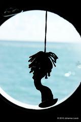"Yarn Surfer in the Caribbean (Aruba) (runintherain) Tags: runintherain canon450dxsi canon canonxsi caribbean lesserantilles island water ocean atlanticocean sea view cruiseship art aruba ""netherlands"" abcislands dutchcaribbean caribbeansea"