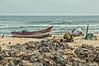 Fishing Boat On Marina Beach (gecko47) Tags: boat fishingboat vessel beached nets marinabeach chennai india fishingcommunity bayofbengal rocks sand seafront