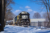 NS EMD GP38-2 #5669 @ Morrisville, PA (Darryl Rule's Photography) Tags: buckscounty cpdq csao csx csxt delmoorave diesel diesels emd freight freighttrain geep january local mixedfreight morrisville ns norfolksouthern ols operationlifesaver pa pennsylvania pennsylvaniaave railroad railroads snow staley streetrunning sun tankcar tankcars train trains winter yn2 ypmor1
