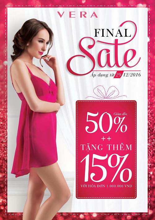Final Sale – Chương trình ưu đãi lớn nhất năm
