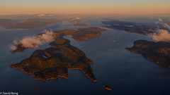 Gulf Islands-Sunrise (david byng) Tags: helijet victoria sunrise winter vancouverisland pacificocean canada britishcolumbia gulfislands