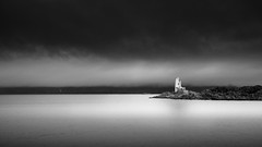 Eilean a Chait Lighthouse (Richard Hunter ARPS) Tags: