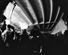 Cracktopia Cracktory Anniversary Party (Rubin Starset) Tags: 35mm blackwhite blackwhitefilm blackandwhite blackandwhitefilm cracktory film film:format=35mm film:type=bwprint fisheye printfilm camera:make=canon camera:model=canoneoselan7n geocountry geolocation exif:model=canoneoselan7n geocity geostate exif:make=canon