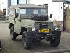 "1980 Land Rover 88"" Lightweight (harry_nl) Tags: netherlands nederland 2017 waardenburg landrover 88 lightweight 94sfzk sidecode6"
