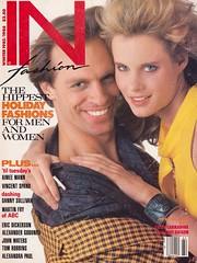 Keith Carradine and Lori Singer  1985 (moogirl2) Tags: 80s 80sfashion 1980s 1980sfashion vintage retro infashion keithcarradine lorisinger fame footloose barrymckinley 80sfilm film tv