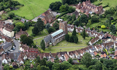 St Nicholas Church in Castle Hedingham - Essex aerial (John D F) Tags: castlehedingham church essex aerial aerialphotography aerialimage aerialphotograph aerialimagesuk aerialview droneview viewfromplane britainfromabove britainfromtheair hirez hires highresolution