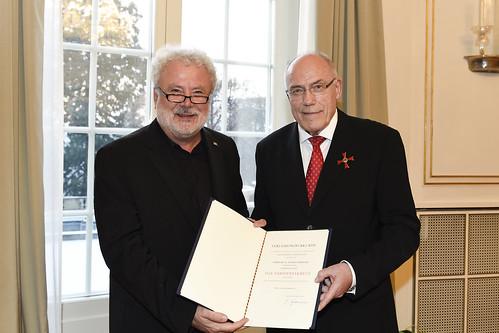 Bundesverdienstkreuz 1. Klasse für Rudolf Böhmler