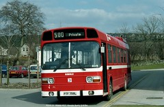 Ribble 412 840403 Kendal [jg] (maljoe) Tags: ribble ribblemotorservices rms nbc nationalbuscompany leylandnational