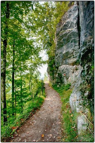"""Wandersteig in der """"Ewigen Wand"""" (2)"""