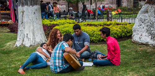 2016 - Mexico - Morelia - Park Musician
