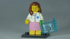 Brick Yourself Custom Lego Figure Radiogopher & X-Ray