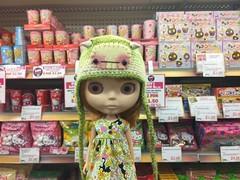 Little Tokyo & Conrad (TuSabesBlythe) Tags: conrad doll blythe bl kozy kozykape