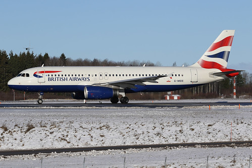 British Airways Airbus A320-232 G-MIDS 170223 ARN