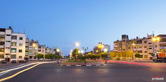 Stalingrad Square l   (Ayman Abu Elhussin) Tags: africa park street wallpaper plant building tree art history tourism public beautiful architecture night photography lights town photo ray cityscape view shot outdoor album egypt arabic clean midtown portsaid arab longshutter   ayman                      aymanabuelhussin
