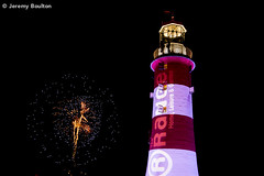 Dancer by the Lighthouse (JKmedia) Tags: above light sky lighthouse up glitter night display fireworks plymouth firework hoe handheld spark pyrotechnics therange nationalfireworkschampionships canoneos5dmkiii boultonphotography plymouthfireworkssecondnight