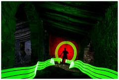LA CASA DE LOS MURCIÉLAGOS (The Bat House) (JOSE JAVIER GARCIA MARZAL) Tags: longexposure nightphotography españa lightpainting silhouette spain silueta castellón cathode largaexposición fotografíanocturna cátodo aín sierradeespadán ledlenser ahín aínsierradeespadán wwwherramientaslightpaintingcom