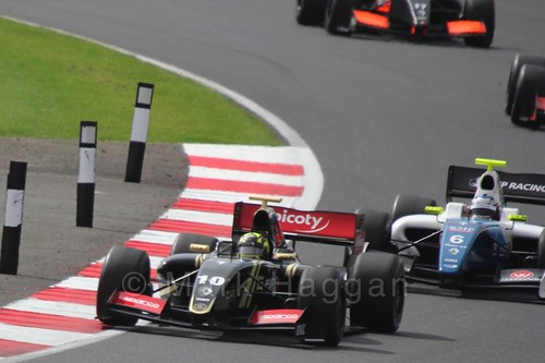 Nick Yelloy in the Formula Renault 3.5 Saturday Race at Silverstone