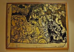 4 - Metz Muse de la Cour d'Or Beaux-Arts (melina1965) Tags: black yellow jaune painting nikon noir july peinture lorraine juillet metz moselle 2015 d80