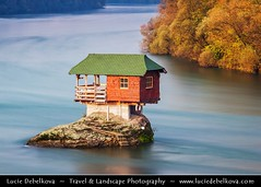 Serbia - Tara National Park - Bajina Basta - Lonely house perched on a rock ( Lucie Debelkova / www.luciedebelkova.com) Tags: world trip travel vacation holiday tourism water beautiful wonderful river nice fantastic perfect europe alone tour place tara awesome serbia sightseeing visit location tourist best journey stunning destination lonely sight traveling balkans lovely visiting exploration incredible touring breathtaking serbian srbsko southeasteurope southeasterneurope thebalkans republikasrbija balkanpeninsula  republicofserbia luciedebelkova wwwluciedebelkovacom luciedebelkovaphotography centralbalkans