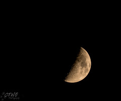 Waxing Cresent (chasingthewildoutdoors) Tags: sky moon detail night canon outdoors montana shadows sigma astro waxing cresent 150600 7dii