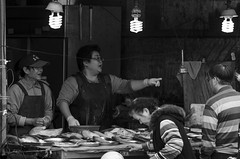 Xitun Market & Music Festival & Asia University Fashion Show Notice-11 (Enix Xie) Tags: life street people blackandwhite bw nikon market taiwan record taichung 70200 70200f4 streetsnap traditionalmarket    d7000 nikond7000 nikkorafs70200mmf4gedvr xitunmarket