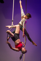 Tangle performs The Girl's Guide to Neighborly Conduct. Photo by Michael Ermilio.