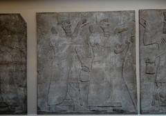 Assyrian wall relief, Nimrud (ca. 860 B.C.) (heffelumpen9) Tags: sculpture relief britishmuseum assyria nimrud assyrianart neoassyrian ashurnasirpalii wingedgenie bucketandcone