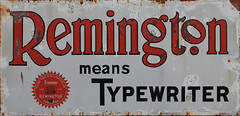 free seamless texture old remington sign (zaphad1) Tags: old sign typrewriter advert advertising remington 3d free seamless texture zaphad1 creative commons