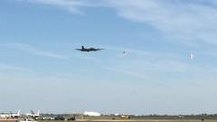 Texas Raiders & Kaboom! (Bill Jacomet) Tags: field airport wings texas tx over houston b17 boeing raiders ellington 2015 b17g texasraiders