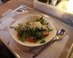 Berlin Food (springlovers) Tags: italien food berlin germany essen pasta tomaten rucola ravioli lecker sugo vapiano pinienkerne