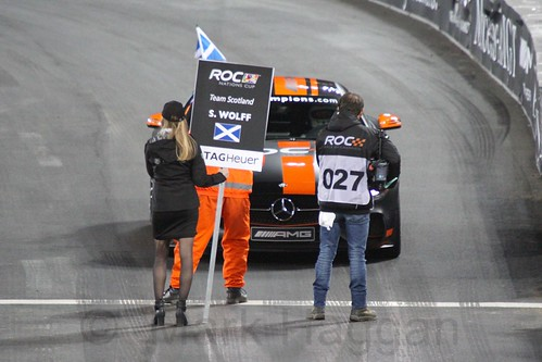 Susie Wolff in the The Race of Champions, Olympic Stadium, London, November 2015