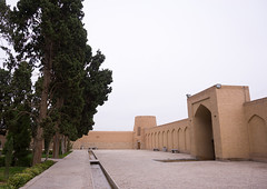 fin garden walls, Isfahan Province, Kashan, Iran (Eric Lafforgue) Tags: travel building tree horizontal architecture garden outdoors iran middleeast nobody nopeople pavilion geography copyspace kashan geographic worldheritage islamicarchitecture persiangulfstates fingarden cedartrees   colourimage  iro isfahanprovince  baghefin westernasia  16722 bagdefin historicwalledgarden