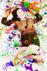 Playful Painter (Arctic Revolution Studios) Tags: girl fetish painting asian model paint body spirit free style arctic revolution slime studios alternative gunge