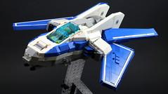 My Blue Elfire (joeseidon) Tags: blue ship lego space spaceship elfire