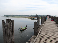 "Amarapura: U Bein's Bridge <a style=""margin-left:10px; font-size:0.8em;"" href=""http://www.flickr.com/photos/127723101@N04/23151234862/"" target=""_blank"">@flickr</a>"