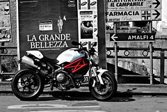 (giuseppedelvecchio) Tags: sea monster coast amalficoast racing gas wdw ducati rider amalfi 796